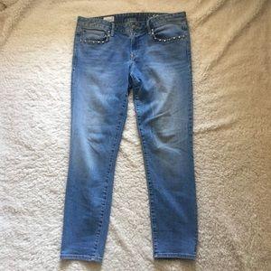 GAP Jeans - Gap 1969 Studded Pocket Always Skinny Jean